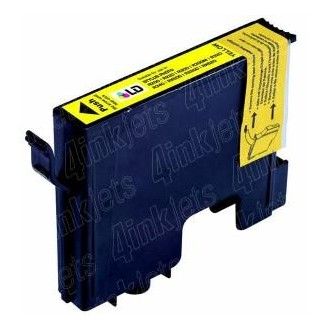 16ML Compatible Epson Stylus Photo R800/R1800 -Amarillo