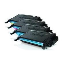 Amarillo compatible samsung CLP 620 ND, 670 ND,CLX 6220 FX,6250 FX-Y5082L 4K