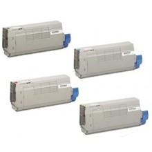 Amarillo compatible para Oki ES7470,ES7480-11.5K45396213