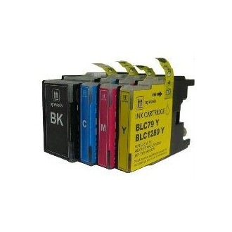 30ML Compatible para Brother Mfc J6510DW,J6910DW.LC-1280XLBK