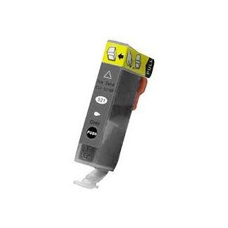 Gris 10ml con chip para Canon Ip3600/IP4600/MP540/MP620/630