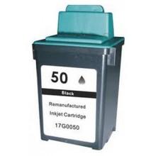 25ML Regenerado Lexmark Jet Printer Z12/22/32-Negro 50