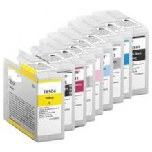 80ML Pigmento compatible SC-P800DES,P800SE,P800SP-Cyan