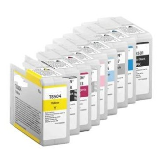 80ML Pigmento compatible SC-P800DES,P800SE,P800SP-Amarillo