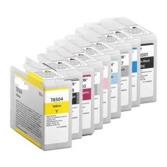 80ML Pigmento compa SC-P800DES,P800SE,P800SP-Cyan claro