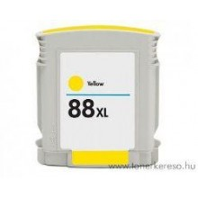 28ML AMARILLO CON CHIP HP OFFICEJET PRO K550XXX-28 Ml 88XL