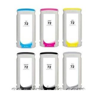 130ml Dye Cyan para HP Designjet T1100,T1200,T1300,T230072