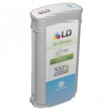 130ml Pigment Cyan claro para HP Z2100,Z3100,Z3200,Z520070