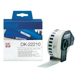 Blanco 29mmX30.48m para Brother P-Touch QL1000 1050 1060