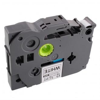 Laminado Negro-amari 6mmX8m Brother labelTZ-FX611/TZe-FX611