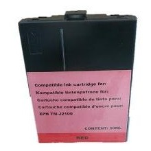Rojo Dye para Epson TM-J2100-40mlC33S020268(SJIC4R)