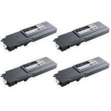 Negro compatib para Dell C3760N,3760DN,3765DNF 11K593-11119