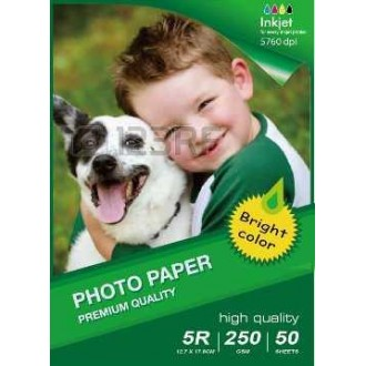 13X18CM B6 High Glossy Inkjet Photo Paper 180g-50 Fogli