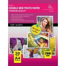 297X210MM A4 High Glossy Inkjet Photo Paper 180g-20 Fogli