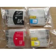4 Vacío recargable para Brother LC985 Serie BK+C+M+Y