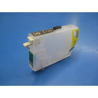 Negro con Chip Vacío 12ml compatibl porT1281 Battery 15Meses