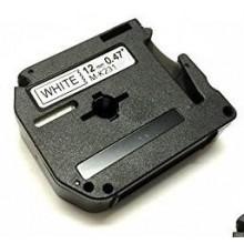 Laminato Black-White 12mmX8m Brother labelMK-231SBZ