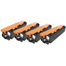 Negro toner universal HP CB540A/CE320A/CF210A/X-2.2K