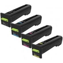 Negro Compa CS820,CX820,CX825,CX860de,dte,dtfe-8K72K20K0