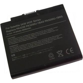 Battery Toshiba Satellite 2430 2435 A30 A35 S2430 - 6600 mAh