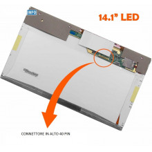 Display LTN141AT15 14.1 inch LED 40 pin