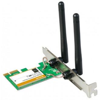 Card PCI Express 2.0 1x Wireless 300 Mbps