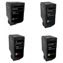 Magenta Compatible Lexmark XC4100,XC4140,XC4150-13K24B6718