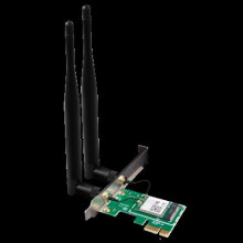 Scheda PCI Express wireless antenne 5dbi dualband AC1200 E12